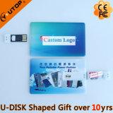 Hot Sliding Credit Card USB Flash Drive as Fair Gifts (YT-3109)