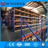 Heavy Duty Warehouse Storage Rack Supported Mezzanine