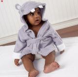 Hooded Cotton Terry Baby Bathrobe / Pajama / Nightwear / Sleepwear