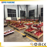 Movable Middle Rise 1000mm Scissor Type Car Lift