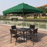 Modern Hotel Office Home Garden Aluminum Polywood Outdoor Patio Dining Chair and Table (J803)