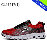 Fashion Men Sports Sneaker Running with Flyknit Mesh Upper
