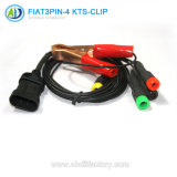 3pin to 4 Kts-Jack OBD Connector for FIAT Dignostic Tool