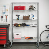 American Standard Stainless Steel Hotel Kitchen Garage Shelving Rack
