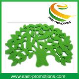 Fashion Tree Shaped Polyester Felt Coaster