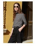Wholesale Factory Knit Stripe T Shirt
