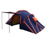 3-4 People Double Outdoor Fashing Lake Camping Family Tent