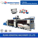 Automatic Plastic Cup Forming & Auto Stacking Machine for Glass (HFTF-70T)