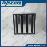 Industrial G3 Panel Active Carbon Air Filter Aluminum Alloy Frame