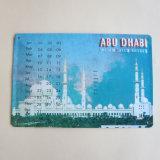 Custom Souvenir Metal / Tin Calendar, Tin Plate Card