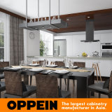 Modern Wholesale White Wood Grain Villa Home Kitchen Furniture (OP16-Villa02)