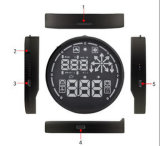 Car Hud Head up Display Obdii Kmh / Mph Overspeed Alarm
