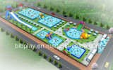 40X100m Water Park Planning as Per Actual Area