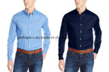 Good Fitting Mens Official Long Sleeve Cotton Blank Shirt
