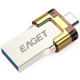 Eaget V80 Mobile USB 3.0 Flash Pen Drive OTG