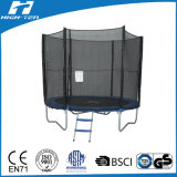 8FT Round Trampoline Has TUV/GS Certificate, Outside Safety Net
