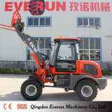 1.6 Ton Everun Brand Compact Front End Type Wheel Loader with Electric Joystick
