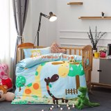 Wholesale Cheap Cartoon Style Baby Crib Bedding Sets