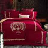 100% Egyptian Long Staple Cotton Embroidery Wholesale Bedding Set