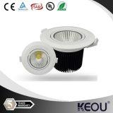 100-277V 12V 24V 4W/7W/10W/12W/16W Downlight COB LED