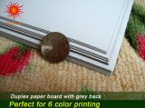 Coated Duplex Board with Grey Back Mixed Pulp