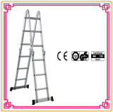 Aluminum Multi-Purpose Ladder with Anti-Slipping Footings.
