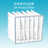 35% Efficiency G4 Nonwoven Fabric Air Pocket Filter