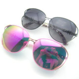 New Stylish Women Metal Polarized Design Sunglasses