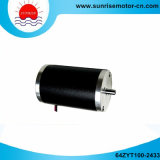64zyt100-2433 24VDC 0.18n. M 53W 2800rpm Permanent Magnet Electric DC Motor