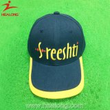 Healong Blue and Yellow Color Customized Twill Fabric Baseball Cap (Hat)