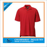 Sport Red Outdoor Dry Fit Polo Shirt for Men