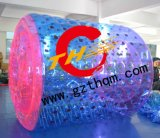 Funny Inflatable Water Roller with Color Dots for Kids or Adults