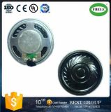 36mm 16 Ohm Mini 1W Flat Mylar Speaker RoHS