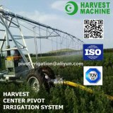 Large Automatic Lateral Move Farm Irrigation System Used for Grassland