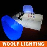 Nightclub Colorful Chair LED Lighting Bar Furniture