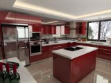 Affordable Modern MDF Lacquer Kitchen Cabinet