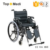 Ce Folding Manual Aluminum Elevating Footrest Wheelchair
