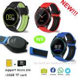 2017 New Slim Design Smart Watch Phone with SIM Card Slot W9