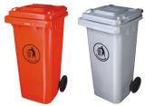 Plastic Wheeled Waste Bin 120L Contenedor De Basura