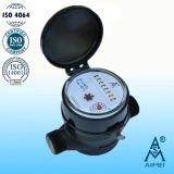 Single Jet Dry Dial Plastic Water Meter
