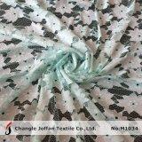 Textile Flower Mesh Lace Fabric (M1034)