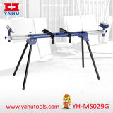 Foldable Miter Saw Stand for Woodworking