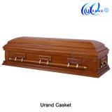 Oak Matt Gloss Half Couch South American Casket and Coffin