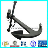 Casted Steel Long Shanked Admiralty Anchor for Ship