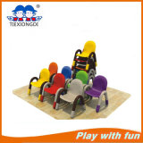 Manufacturer Iron Feet Plastic Chair for Kids