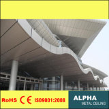 Suspension Aluminum Honeycomb Wall Panel with Water and Fire Proof