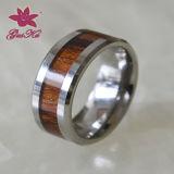 2016 Stainless Steel Wooden Retro Finger Rings (factory)