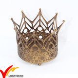 Vintage Gold Christmas Iron Home Decorations Metal Crowns