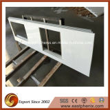 Hot Sale Pure White Crystallized Glass Countertop
