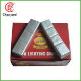 Hong Qiang Flame Coal Quick Lite Smokeless Shisha Silver Charcoal